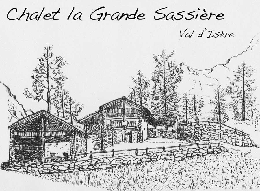 Chalet la Grande Sassiere, summer chalet rental in Val d'Isere