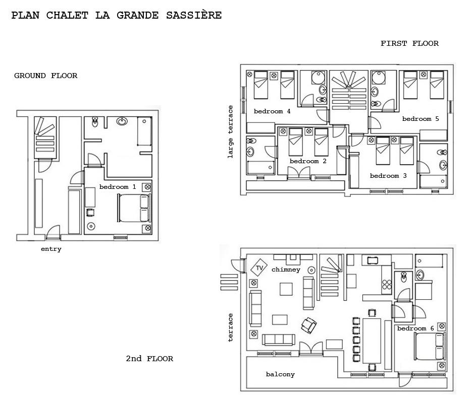 Description of Chalet la Grande Sassiere, summer chalet rental in Val d'Isere